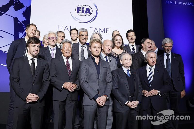 FIA homenajea a los campeones de la F1 con el nuevo Salón de la Fama