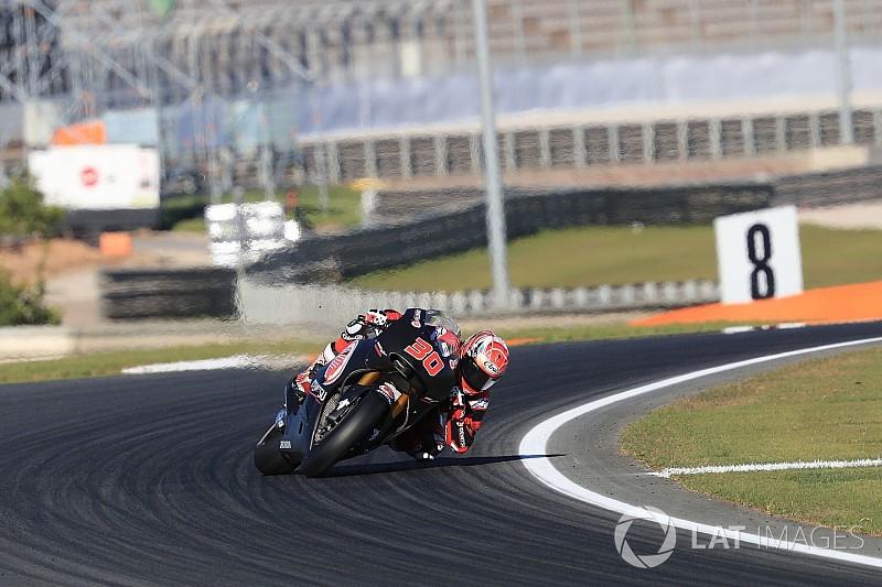 VIDEO: Kecelakaan pertama Nakagami dengan motor MotoGP