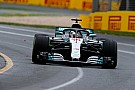 La grille de départ du Grand Prix d'Australie