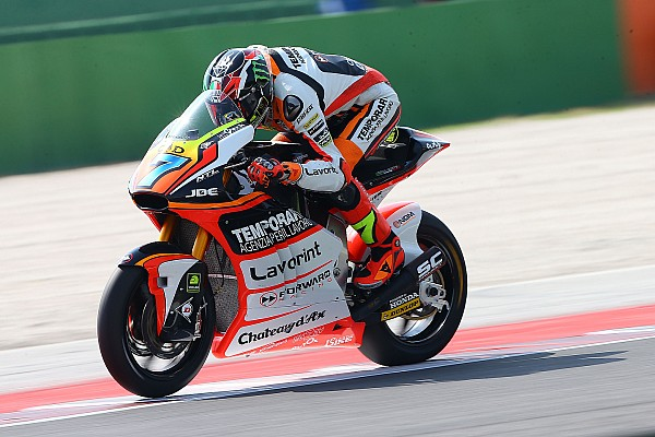 Misano Moto2: Baldassarri catches Rins for maiden win