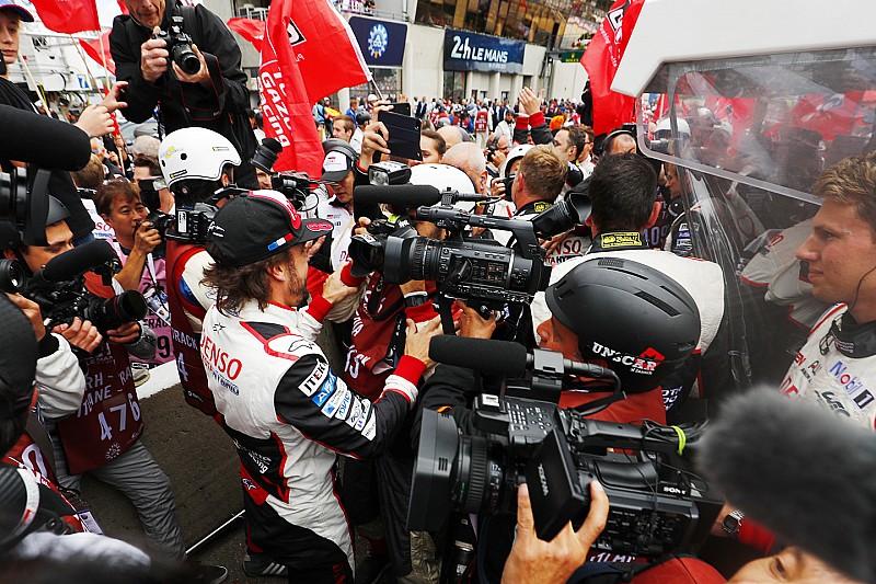Alonso tras ganar Le Mans: