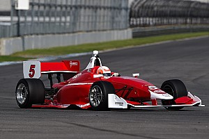 Indy Lights Testing report Jamin, Askew, Keane top the three Mazda Road To Indy series at IMS