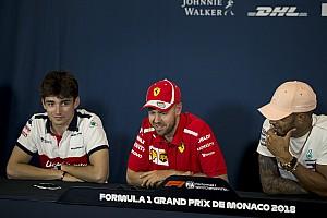 Hamilton y Vettel aconsejan a Leclerc