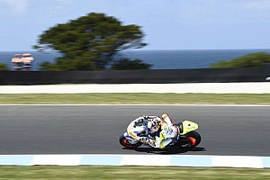 Moto2 Breaking news Simeon ruled out of Phillip Island after qualifying crash