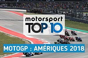 MotoGP Contenu spécial Vidéo - Le top 10 du Grand Prix des Amériques