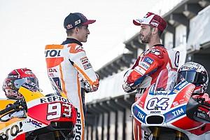 MotoGP Contenu spécial Photos - Márquez vs Dovizioso, le duel surprise