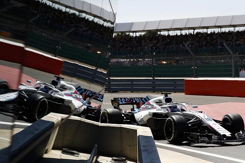 Mindkét Williams a bokszból rajtol a Brit Nagydíjon Silverstone-ban