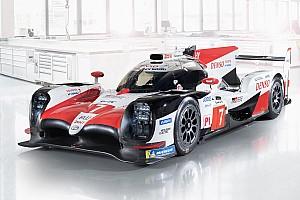 WEC Breaking news Toyota unveils 2018/19 WEC challenger