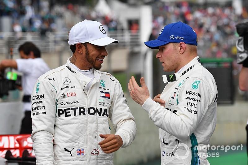 Rosberg: Bottas can annoy Hamilton a lot