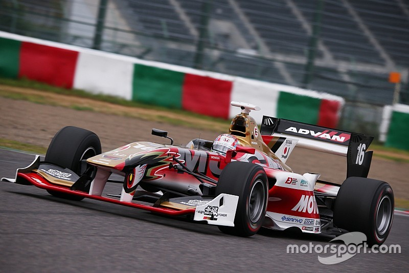 Nojiri tops rain-affected Super Formula test day