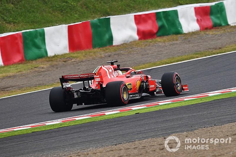 Vettel reconnaît que les Ferrari ont plus endommagé leurs pneus