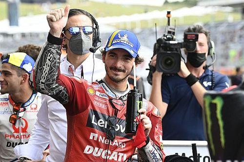 Francesco Bagnaia Tak Ngotot Kejar Gelar MotoGP 2021