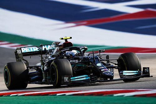 F1 Grand Prix practice results: Bottas, Perez fastest in Austin