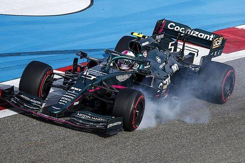 """Vettel admite que no está """"como en casa"""" con el Aston Martin"""