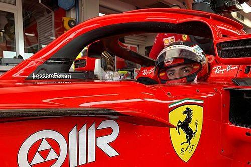 Ferrari: Sainz ha percorso un GP a Fiorano con la SF71H