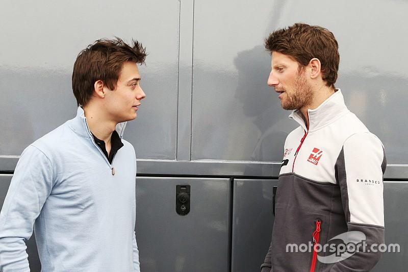 Grosjean neemt Renault-talent Deletraz onder zijn hoede