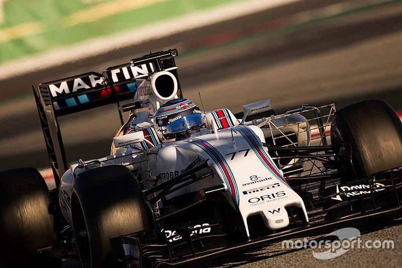 Williams must target wins in 2016 - Bottas