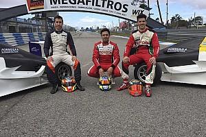 Formula 4 Noticias de última hora Rossi, Guerrieri y Milla probaron los Fórmula 4 Sudamericana