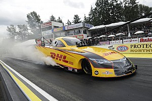 NHRA Race report Rain postpones final rounds of Protect the Harvest NHRA Northwest Nationals