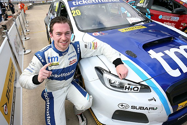 BTCC Rockingham BTCC: Cole takes first win, leads Subaru 1-2