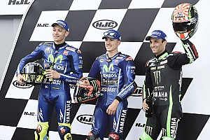 MotoGP Qualifying report Le Mans MotoGP: Vinales leads all-Yamaha front row