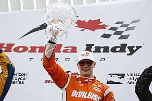 IndyCar Réactions Vainqueur à Toronto, Newgarden se replace au championnat