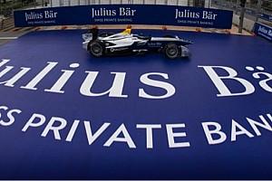 Formule E Actualités Julius Bär Bank sponsor principal du premier ePrix historique de Zurich !
