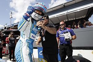 IndyCar 速報ニュース 【インディカー】PPの佐藤琢磨、直前までマシン調整「チームに感謝」