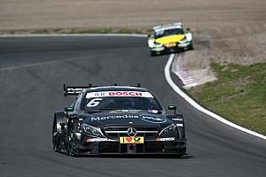 DTM Отчет о гонке Уикенс выиграл вторую гонку DTM на «Нюрбургринге», Ауэра развернуло