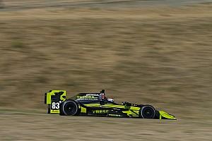 """IndyCar Noticias de última hora Carlin está  """"emocionado"""" tras el primer test de IndyCar"""