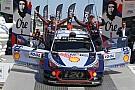 WRC En Hyundai se sienten