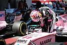 Force India, llamado por los comisarios por un problema con los números