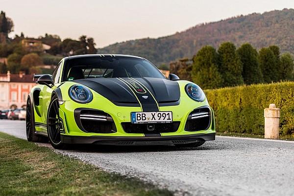 Auto Actualités Photos - L'unique Porsche 911 GTstreet R par TechArt