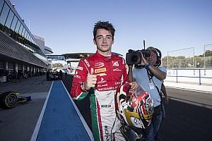 FIA F2 Relato da corrida Leclerc vence em Jerez e carimba título da FIA F2