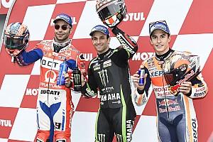 MotoGP Qualifying report Motegi MotoGP: Zarco on pole as Marquez gamble backfires