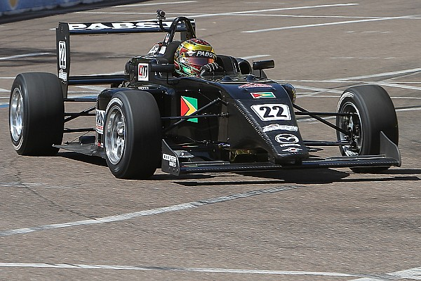 USF2000 Ming tops USF2000 test at Iowa Speedway