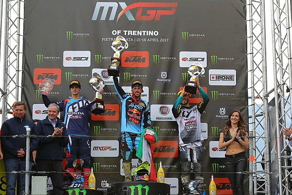 Un devastante Antonio Cairoli vince il GP del Trentino di MXGP