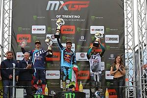 MXGP Reporte de la carrera Cairoli y Prado reinan en el GP de Trentino de MXGP