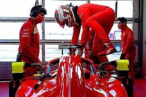 Fotos: el regreso de Leclerc al volante del Ferrari
