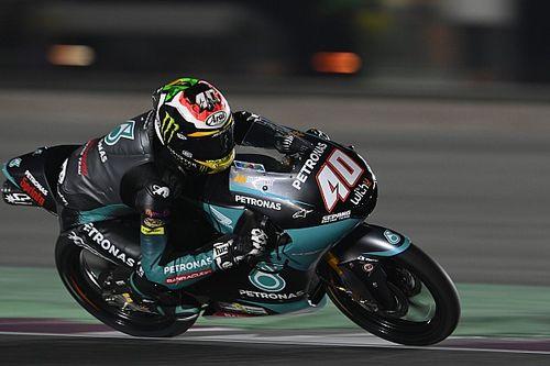 Moto3ドーハ初日:ダリン・ビンダーが総合首位。鈴木竜生が5番手につける