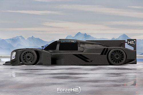 Delftse studenten presenteren nieuwe raceauto op waterstof