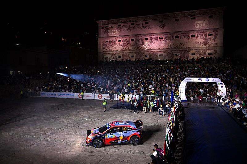 Cancelan la primera etapa del Rally México 2019 por una rampa averiada