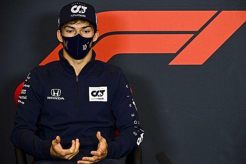 Red Bull réagit à la surprise d'un Gasly non promu