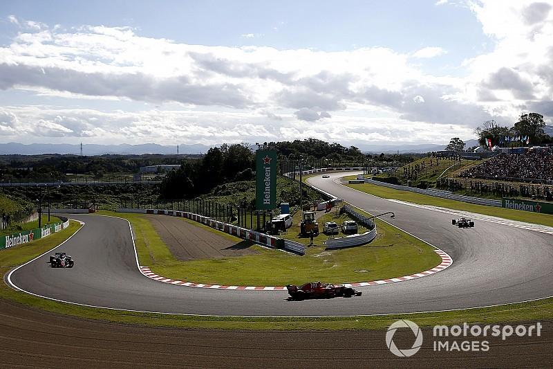 Videón Vettel kockázatos előzése Grosjean ellen Japánból