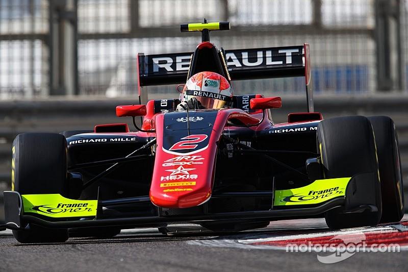 GP3最終戦レース1:ユベールがチャンピオンを獲得。優勝はプルチーニ