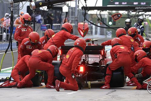 """Ferrari n'a pas fait une """"erreur"""" en appelant Sainz au stand trop tôt"""