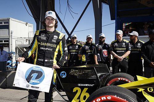 IndyCar Laguna Seca: Herta takes pole, heads Andretti 1-2