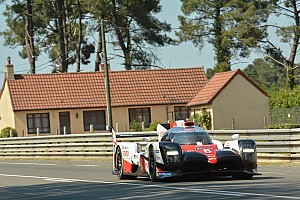 Le Mans Practice report Le Mans 24h: Nakajima tops morning warm-up for Toyota