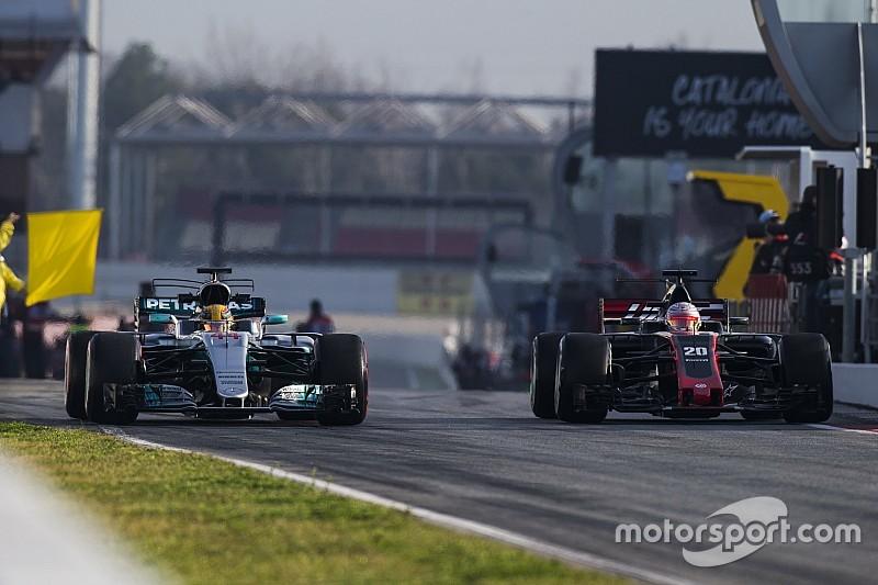 Haas - Le top 3 pourrait avoir 1,5s d'avance sur le reste du peloton