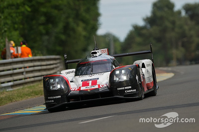 Porsche no tenía ritmo para alcanzar a Toyota en el test de Le Mans